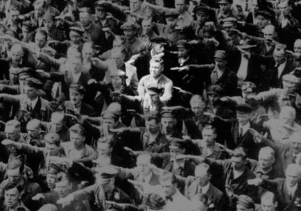 Hitlergruß Verweigert
